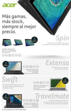 la gama más extensa en Acer