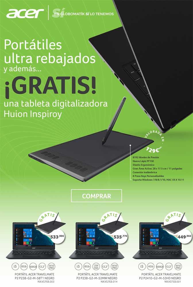 portatiles ultra rebajados con Acer