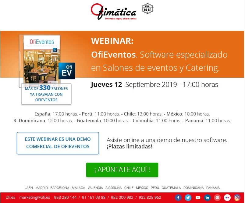 webinar gratuito ofieventos