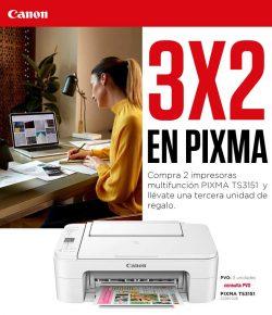 Promocion Canon Pixma con una impresora de regalo