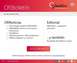 Informacion sobre software de Ofimatica