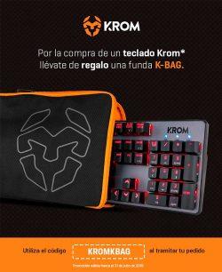 oferta teclados Krom gaming