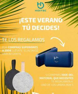 promoción verano Hiditec