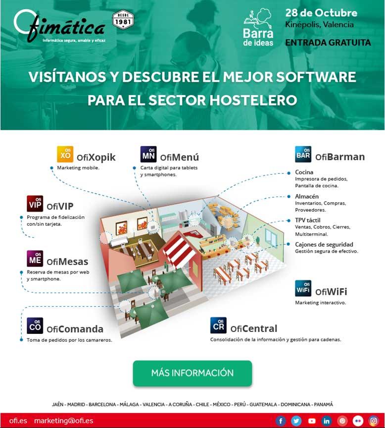 Evento para conecer el software del sector Hostelero