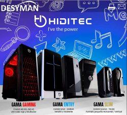 PCs gaming de Hiditec con Intel 9ª generación