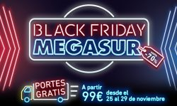 black friday megasur