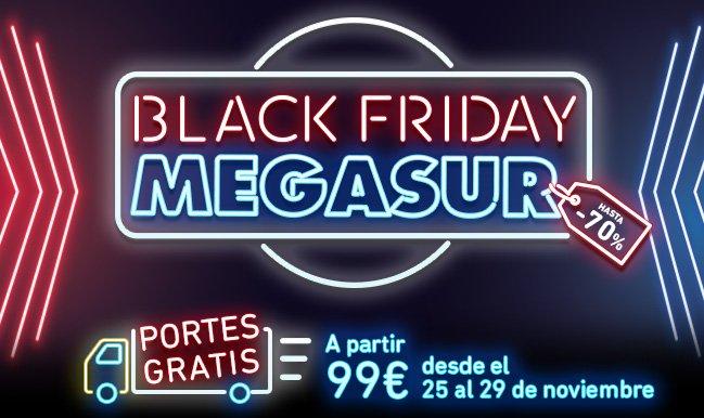 black friday megasur