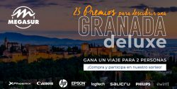 Megasur sortea viajes a Granada