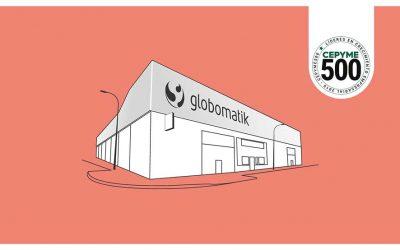 Globomatik, entre las 500 empresas con sello Cepyme 500