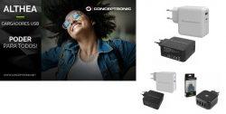 Nuevos cargadores USB-C Conceptronic
