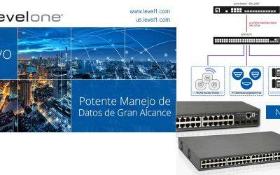 Switch GTP-5271 de LevelOne lleva las redes a nuevos límites