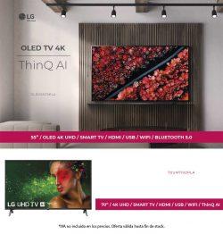 Oferta TV LG en 55 y 70 pulgadas