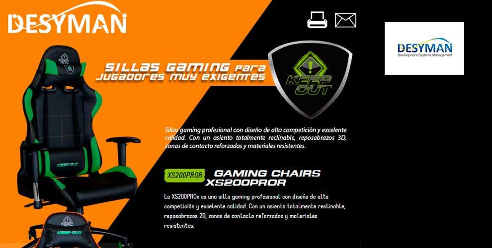 oferta silla gaming