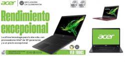 rendimiento excepcional con portátiles Acer