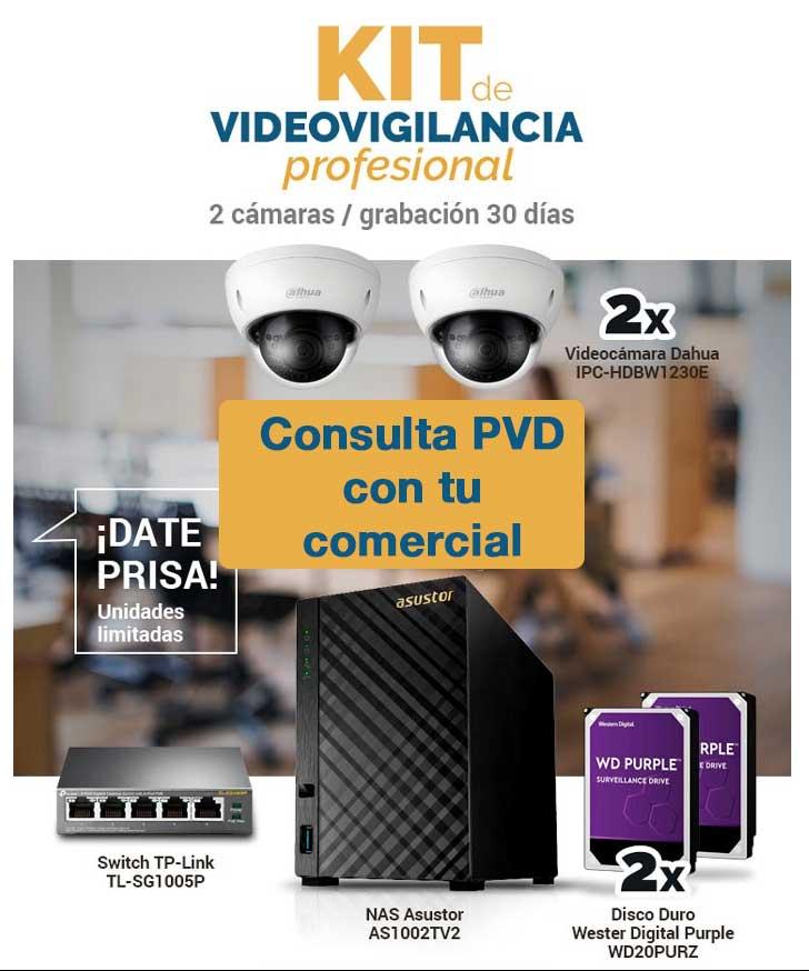 mejor precio kit videovigilancia