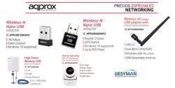 precios especiales productos networking