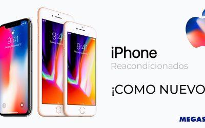 iPhone reacondicionados en Megasur
