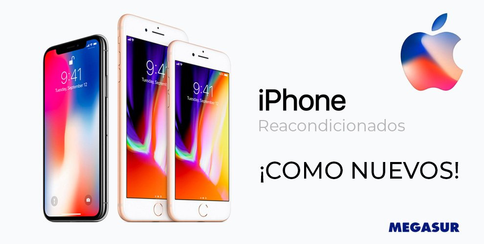 reacondicionados iphone