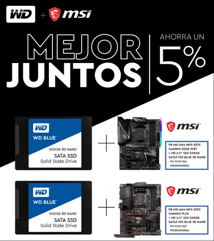 oferta placa base mas ssd
