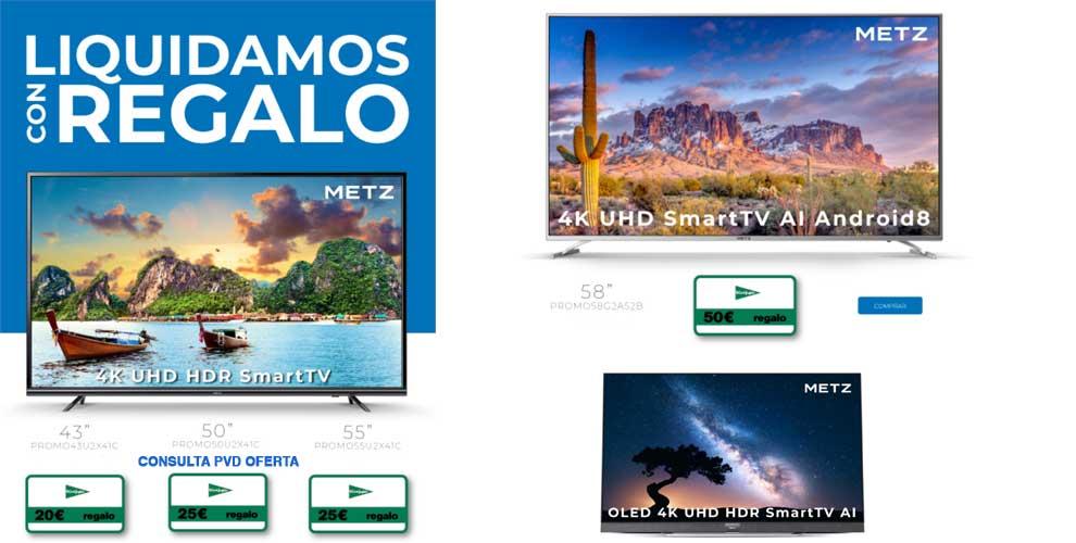 outlet televisores Metz gran formato
