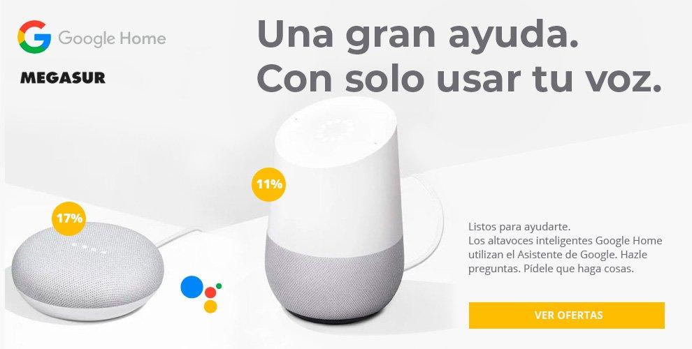 descuento especial Google Home