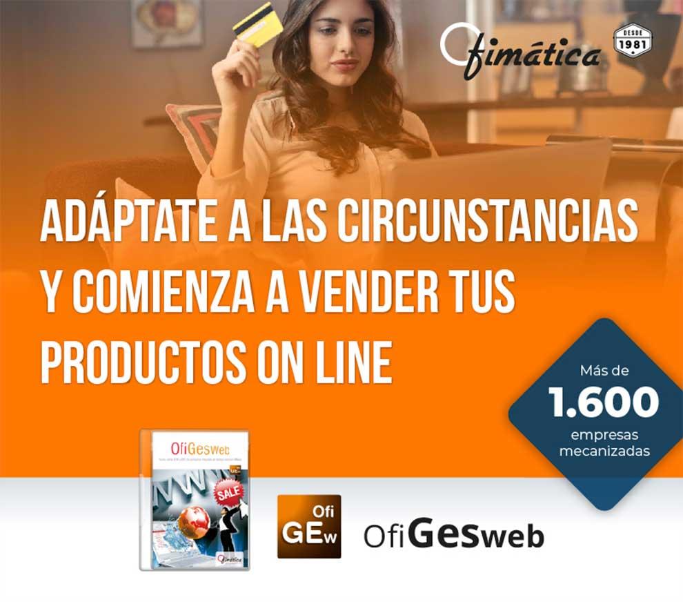 comienza a vender online con Ofimatica
