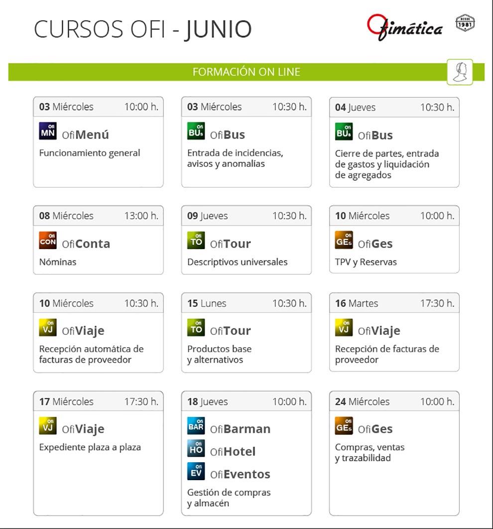 Cursos Ofi online mayoristas informatica