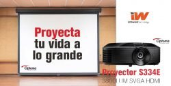 descuento proyector optoma