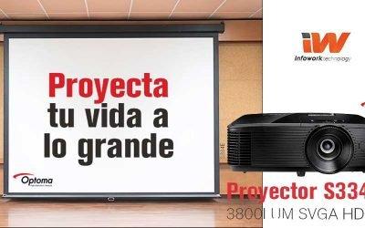 Súper precio para el proyector Optoma S334e
