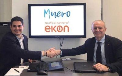 La sevillana Muevo se incorpora al club de partners de Ekon