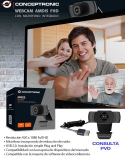 ofertas webcam teletrabajo