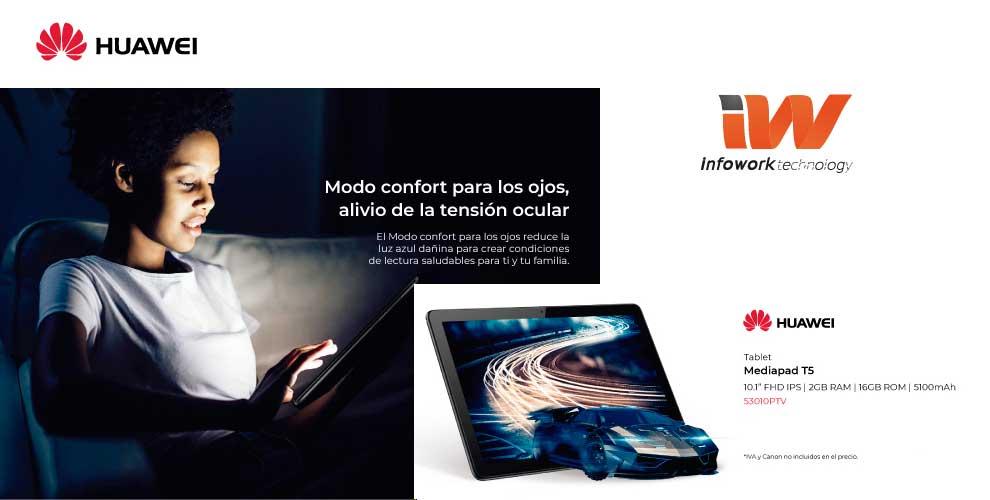 rebajas Huawei Mediapad T5