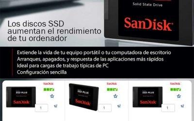 Descuentazos en SSD de Sandisk