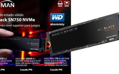Ofertón WD SN750 NVMe