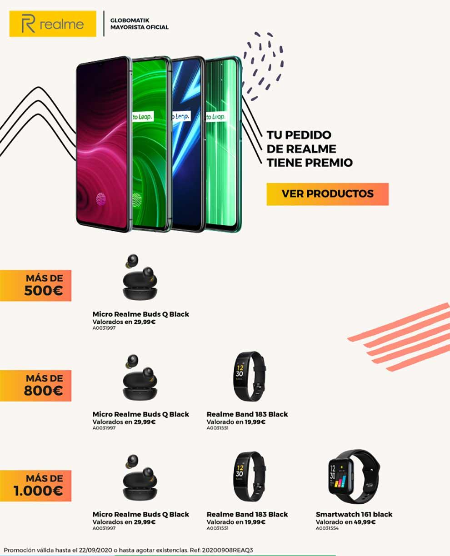 ofertas en móviles realme