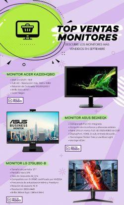 chollos monitores para tu ordenador