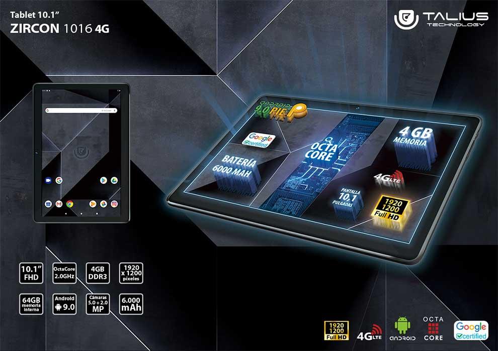 novedad tablet 4G dual sim