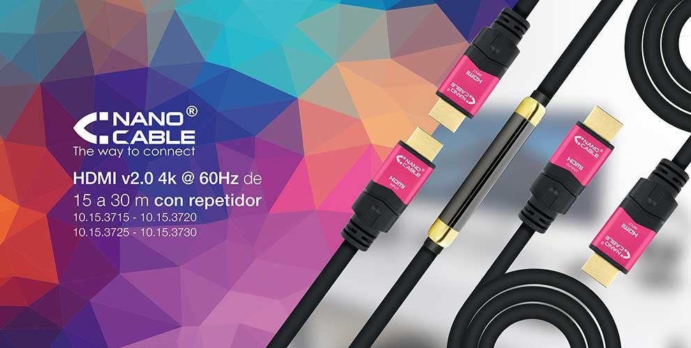 cables HDMI de calidad hasta 30 metros