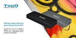 novedad cjas externas para SSD M.2