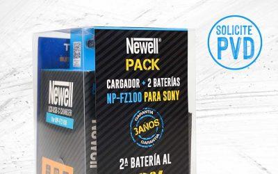 Promoción Pack cargador de baterías Newell mas 2 baterías