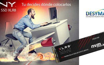 Serie XLR SSD profesionales de PNY