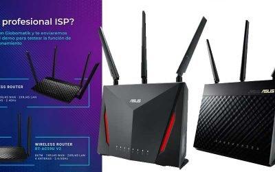 Promoción routers Asus en Globomatik