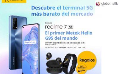 Realme 7 5G el terminal 5G más barato del mercado