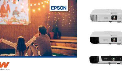 Cuatro proyectores Epson en oferta