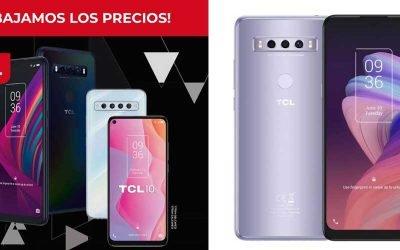 Bajada de precios en smartphones TCL