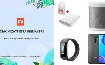 La mejor promo de primavera Xiaomi en Megasur