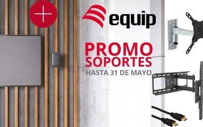 Promo soportes hasta el 31 de mayo